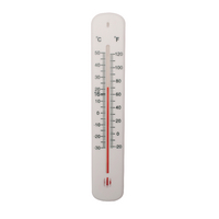 White H200xW45mm Office Thermometer
