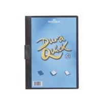 Durable A4 Black Duraquick File Pk20