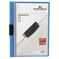 Durable A4 Blue Duraquick File 2270/06