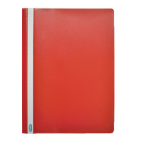 Elba A4 Red Report File Pk50