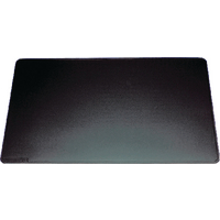 Durable 400x530mm Black Desk Mat 7102/01