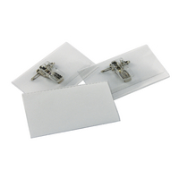 Durable Name Badge 40x75mm Clip Fastener