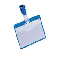 Durable Blue 60x90mm Badge Pk25 8147/06