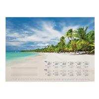 CALENDAR REFILL TROPICAL BEACH 570 x 410