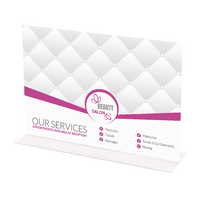 Deflecto Landscape A4 Stand Up Sign Hldr