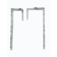 Deflecto Linking Wall File Bracket Pk2