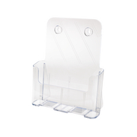 Deflecto A4 Clr Literature Holder 77001