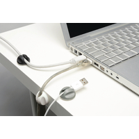 D-Line Self-Adh Cable Tidy Bases Pk6