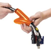 D-Line Cable Zipper 20mm Black 2.5m