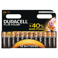 Duracell Plus AA Battery Pk12