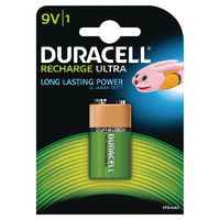 Duracell PP3 9V Rechargeable Battery