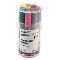 Edding 40 Watercolour Marker Asstd Pk12