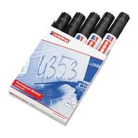 Edding 800 XL Chisel Tip Perm Marker Pk5