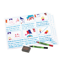 Show-me A3 Tell-a-Story Board Pk5 TAS05