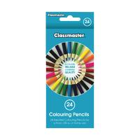 Classmaster Colouring Pencil Asstd CPW24