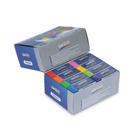 Swash Premium Colour Pencil Erasers Pk32