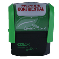 Colop Word Stamp PRIVATE & CONFIDENTIAL