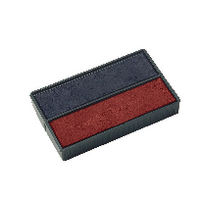 Colop E/4850 Replnt Pad Blue/Red Pk2