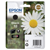 Epson 18 Black Inkjet Cartridge T1801