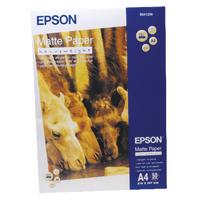 Epson Matt H/Weight A4 Photo Paper Pk50