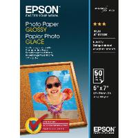 Epson Glossy 13x18cm Photo Paper Pk50