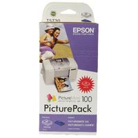 Epson T5730 Bk/C/M/Y Ink/Paper Value Pck