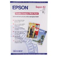 Epson Prem Semi-Gloss A3+ Photo Ppr Pk20