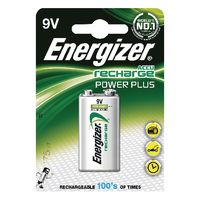 Energizer Rechargeable Battery 9V NiMHd