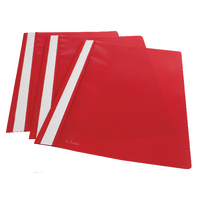 Esselte VIVIDA A4 Red Report Files Pk25