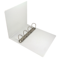 Esselte Wht A4 Pres 4D-Ring Binder 60mm