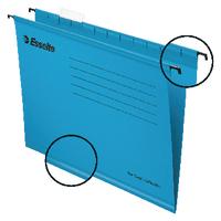 Esselte Cl/Eco Blue A4 Susp Files Pk25