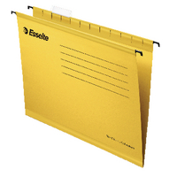 Esselte Cl/Eco A4 Yellow Susp File Pk25