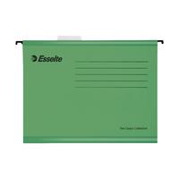 Esselte Cl/Eco A4 Green Susp Files Pk25