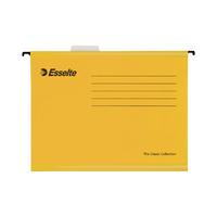 Esselte Cl/Eco Fc Yellow Susp Files Pk25