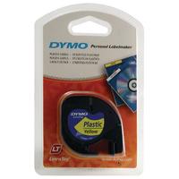 Dymo Hyp/Ylw Letratag 12mmx4m S0721620
