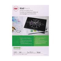 GBC A4 Laminating Pouch Matt 2x75Mic