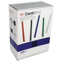 GBC Blue 19mm Binding Comb 4028621U P100