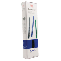 GBC Black 6mm Binding Comb 4028173 Pk100