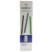 GBC White CombBind Binding Comb 8mm P100