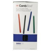 GBC Black 14mm Binding Comb 4028178 P100
