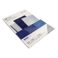 GBC HiClear A4 Binding Covers 150Mc Pk50