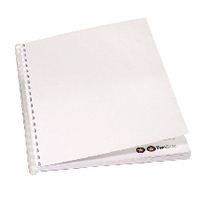 GBC A4 White Binding Covers 220gsm P100