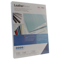 GBC A4 Ry.Blue Binding Covers 250g Pk100