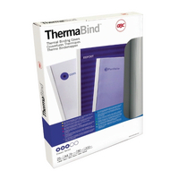 GBC RBlue Thermal Bind Cover 1.5mm Pk100