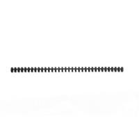 GBC Black A4 16mm ClickBind Spines Pk50