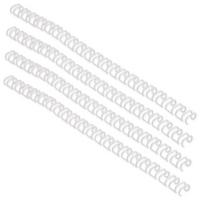 GBC 9.5mm A4 White Binding Wires Pk100