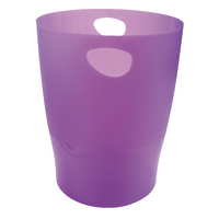 Iderama Waste Bin Purple