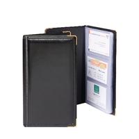 Goldline Bus/Card Holder Dlx SBC3P/Black