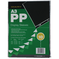 Goldline A3 Display Sleeve Pk10 PDSA3Z