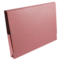 Guildhall Pink 14x10in Pcket Wallet Pk50